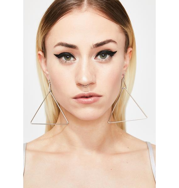 Ur Pointless Triangle Earrings