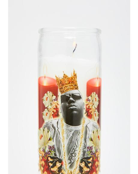 Big Poppa Altar Candle