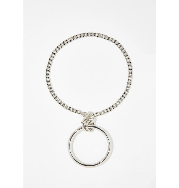 Alpha Queen O-Ring Necklace