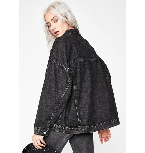 Night Precious Renegade Denim Jacket