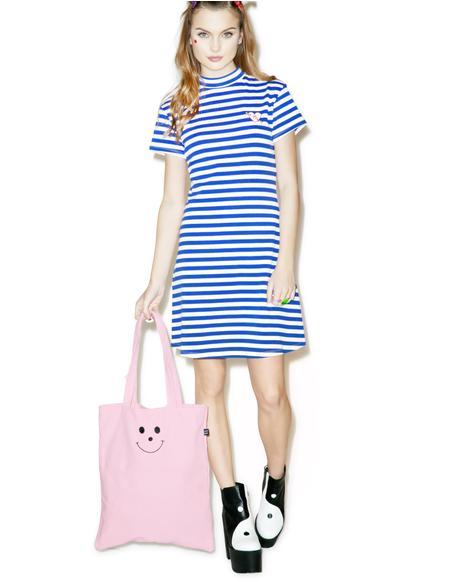 Heart Stripe Dress