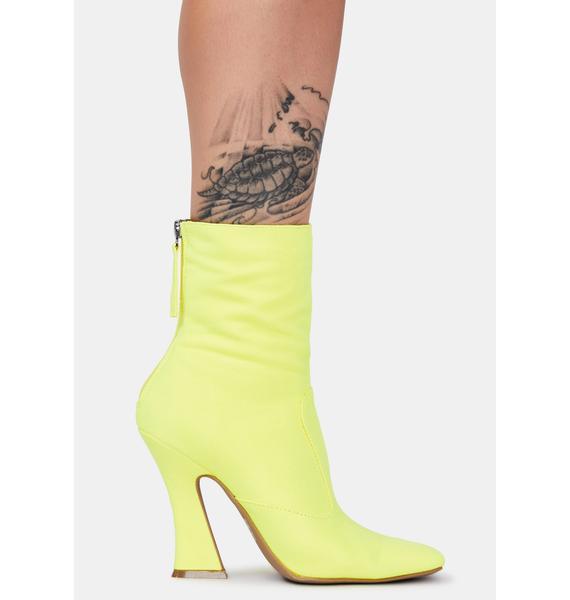 Designer Crush Ankle Boots