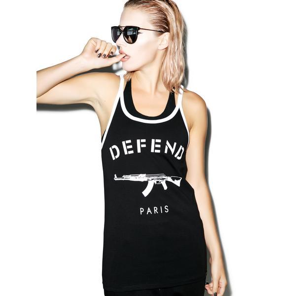 Defend Paris Paris Long Tee