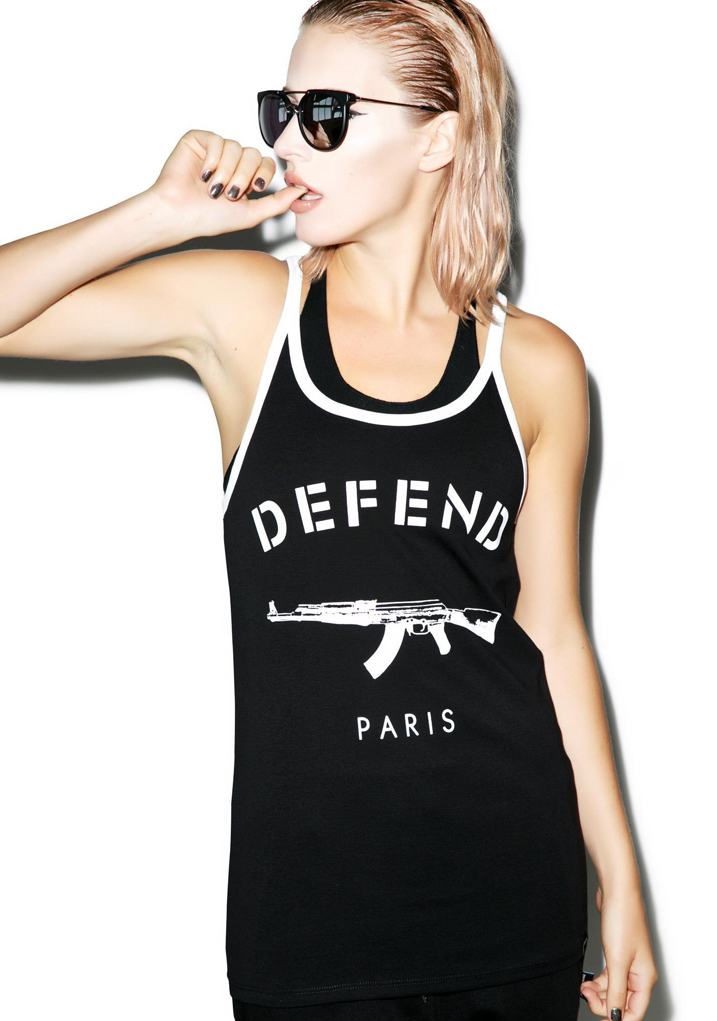 Defend Paris Paris Long Tee