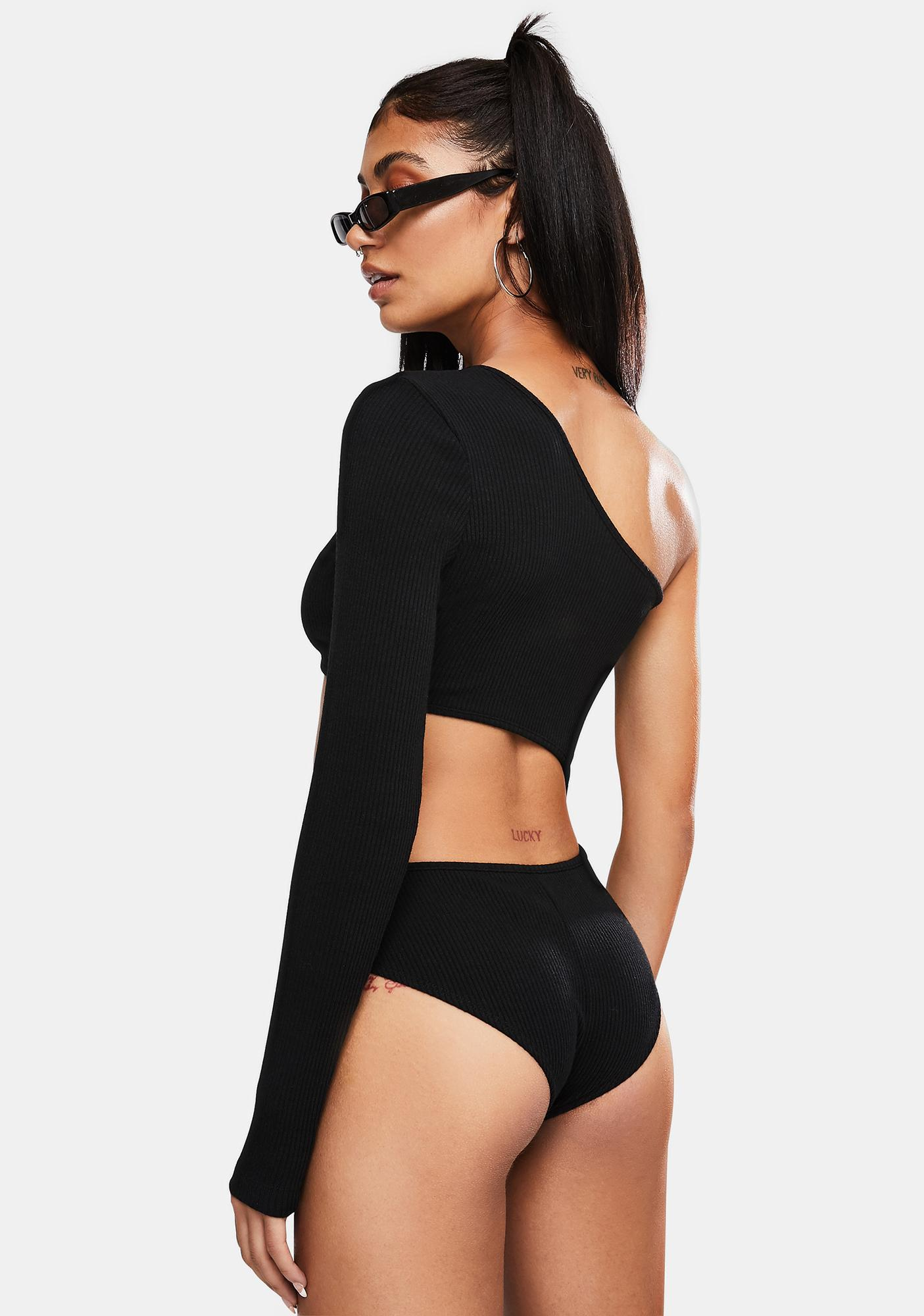Kiki Riki Vain Af Asymmetrical Bodysuit