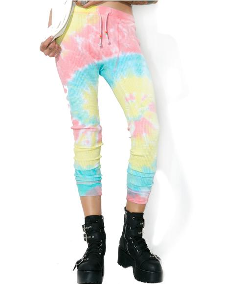 Acid Crush Tie Dye Pants