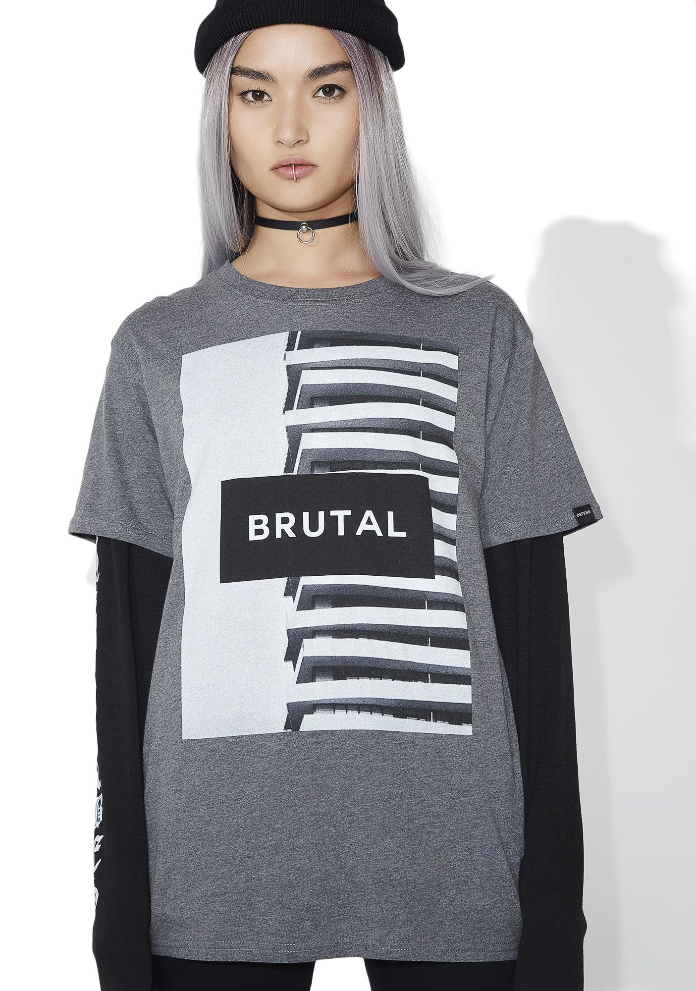 Defend Paris Brutal Tee
