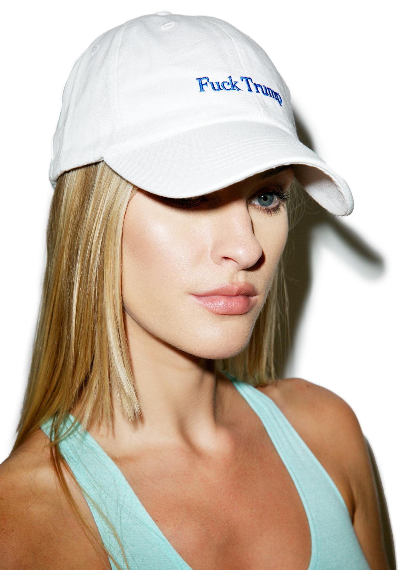 Fuck Trump Dad hat