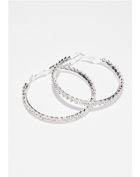 Go Getter Hoop Earrings