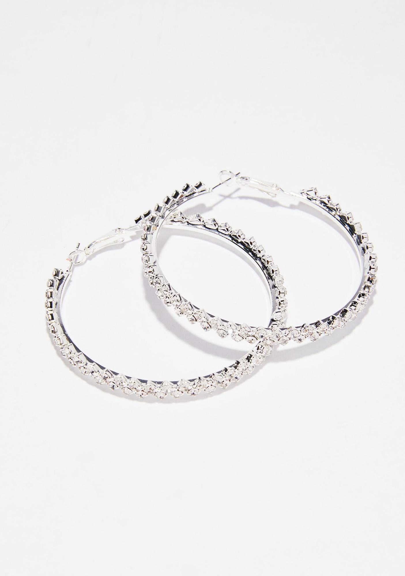 Go Getter Hoop Earrings