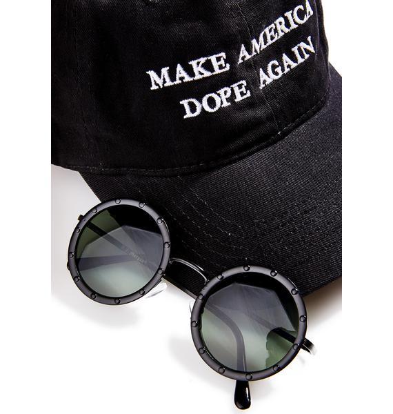 Blackout Johnny Sunglasses