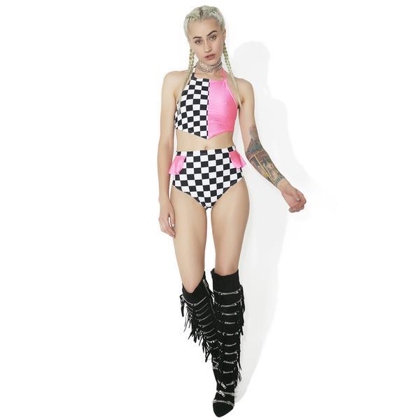 Soulan Zee Valley Girl Booty Shorts