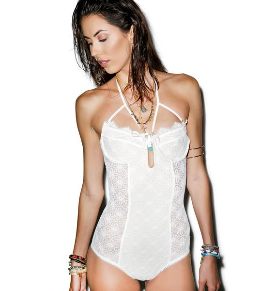 For Love & Lemons Everlasting Bustier Bodysuit