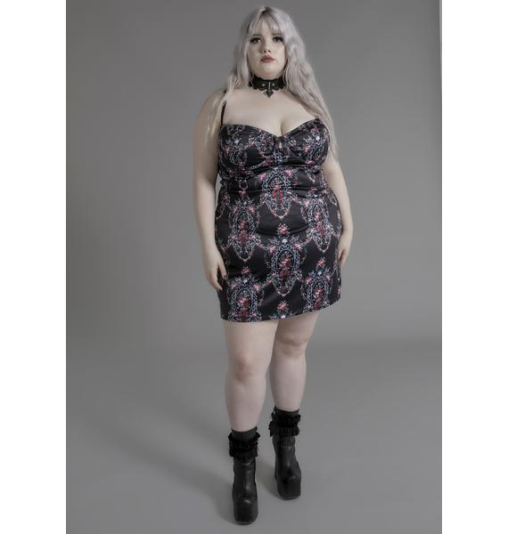 Widow She's Eternally Entwined Floral Dress