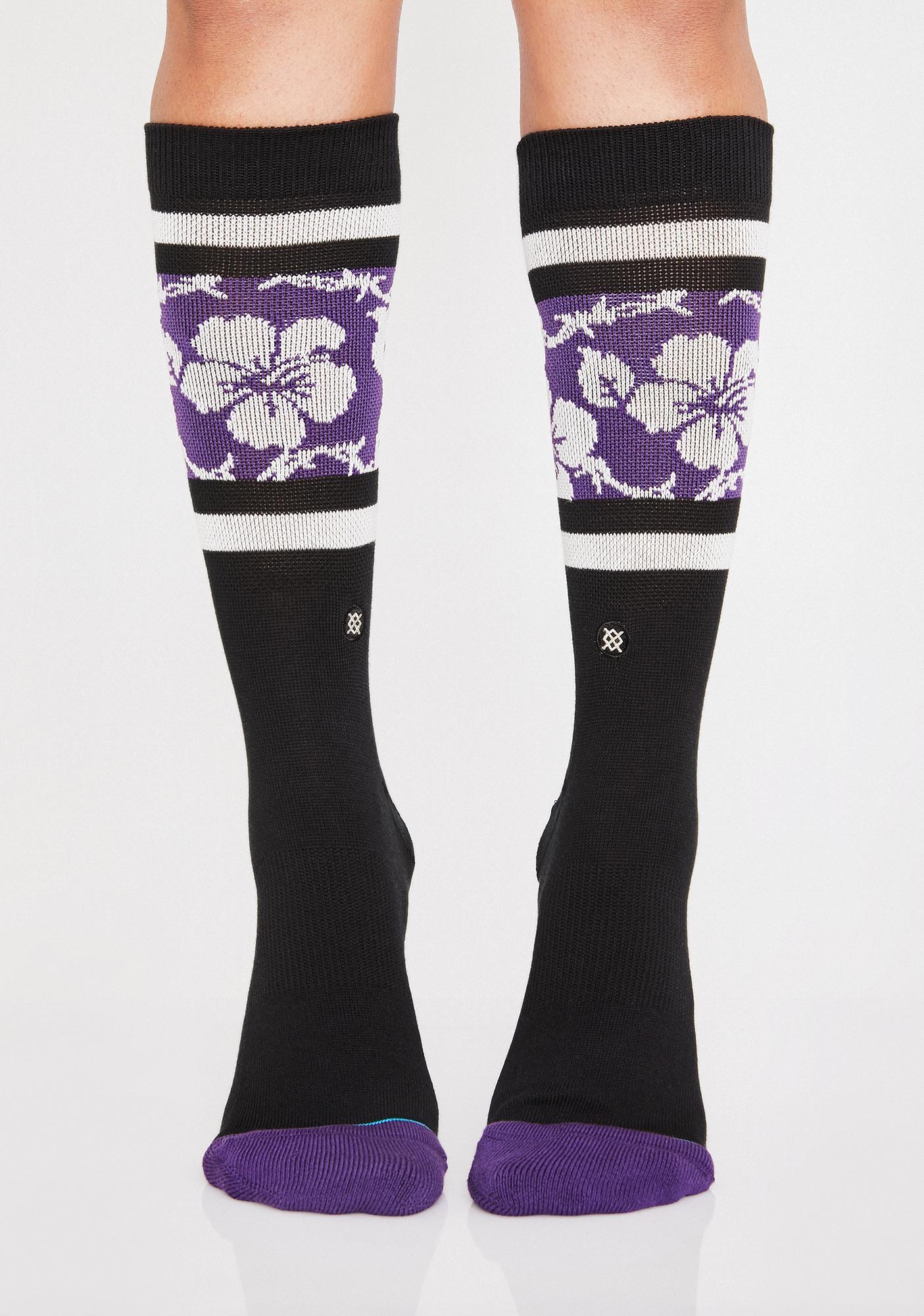 Barbed Aloha Socks