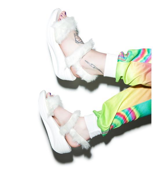 Y.R.U. Bedrock Platform Sandals