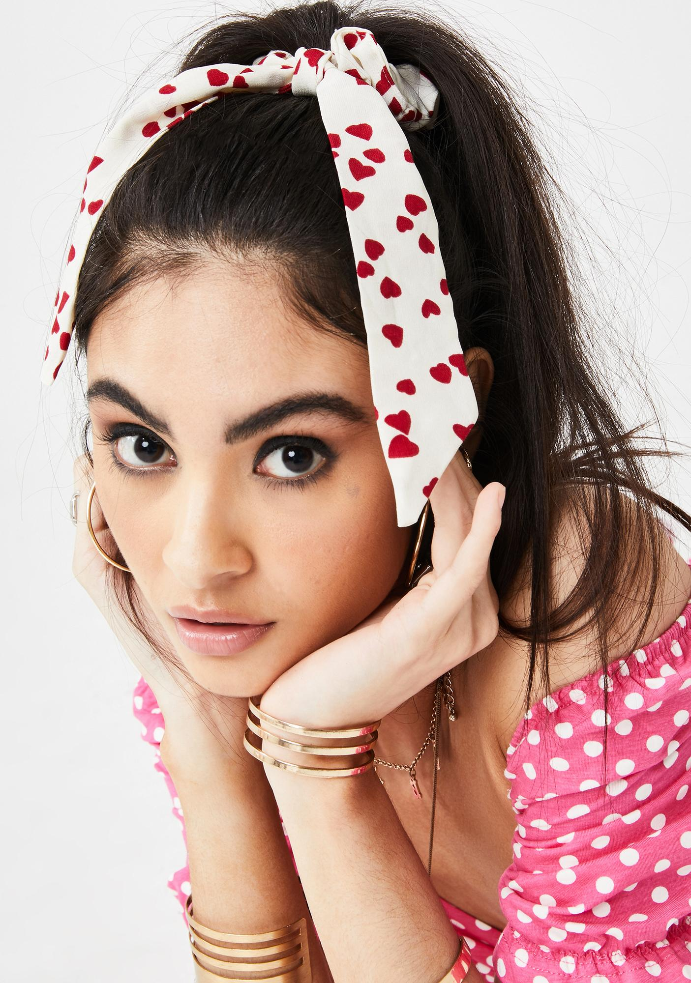 Love For U Scrunchie Tie