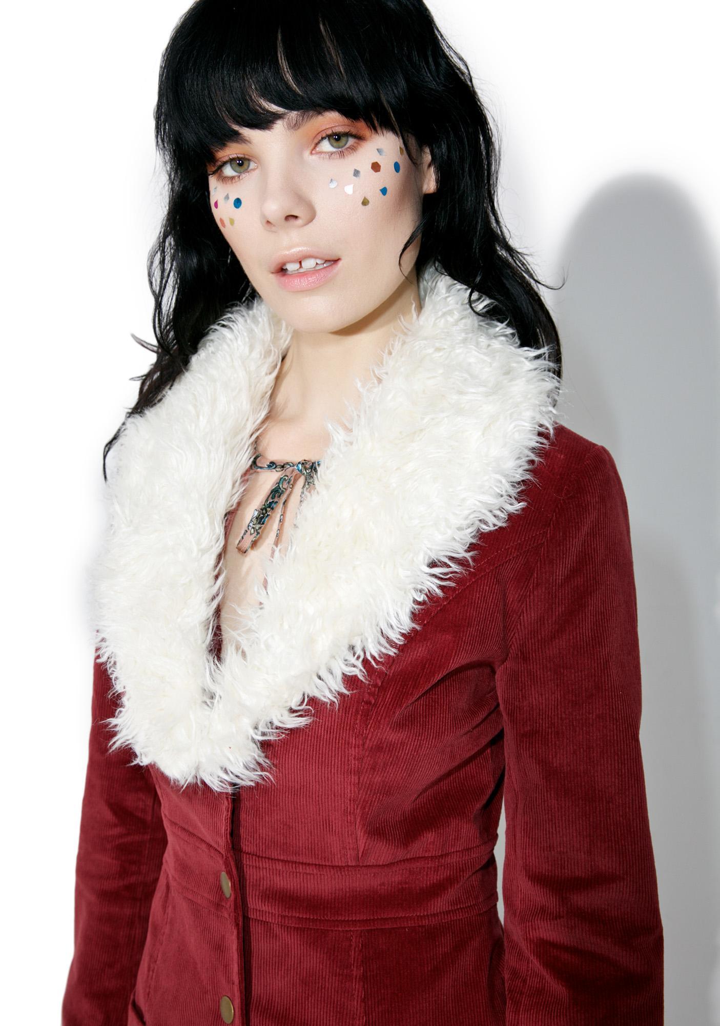 Rumours Faux Fur Coat