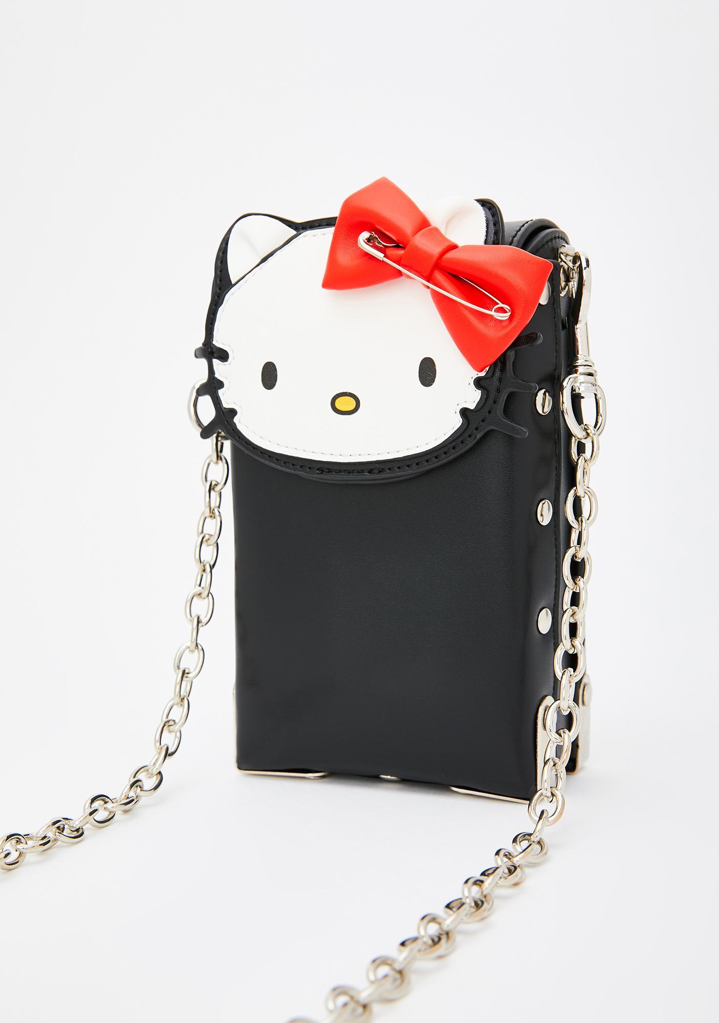 Dolls Kill x Hello Kitty Proper Punk Crossbody Bag