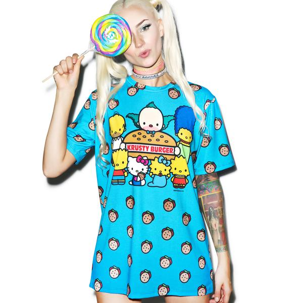 Japan L.A. Krusty Burger Tee