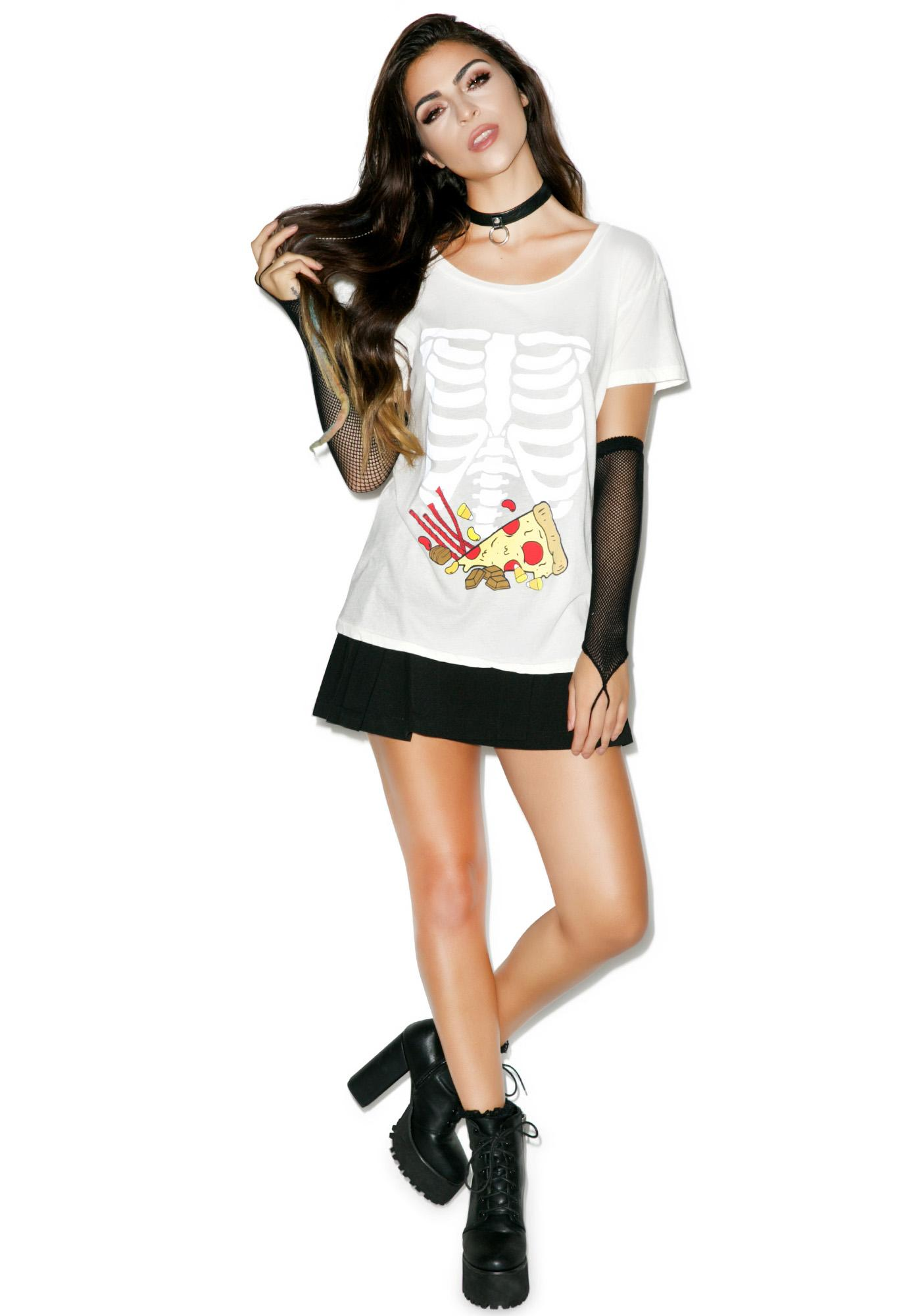 Wildfox Couture Full Stomach Easy Tee