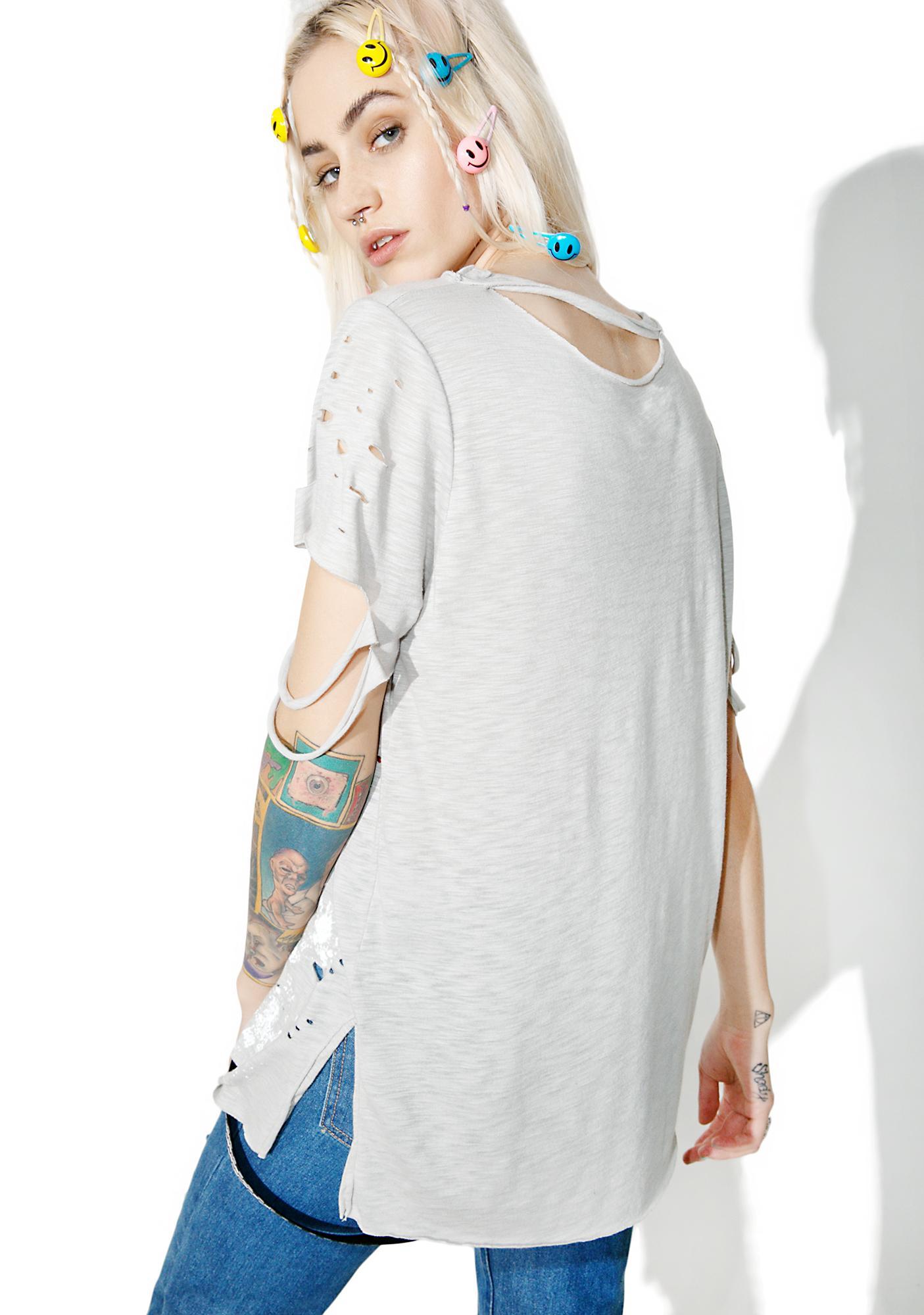 Art Major Distressed T-Shirt