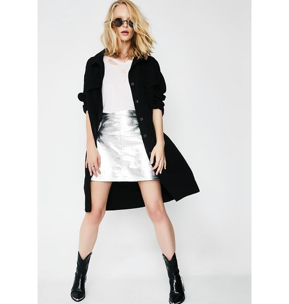 Glamorous Glitzy Babe Mini Skirt
