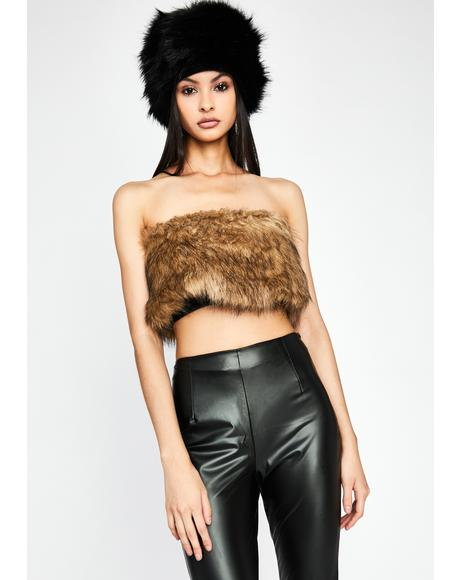 Lady Luxury Faux Fur Set