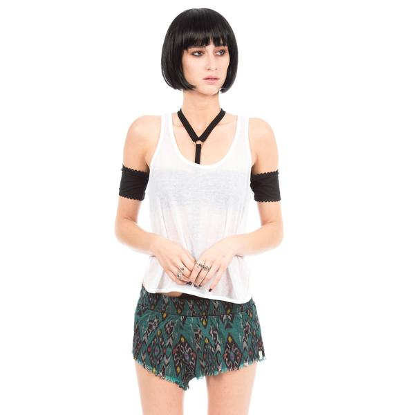 One Teaspoon Original Ikat Shorts