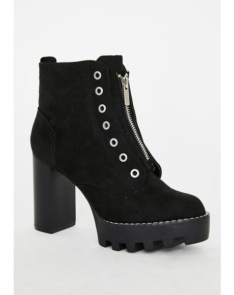 Miss Intensity Ankle Booties