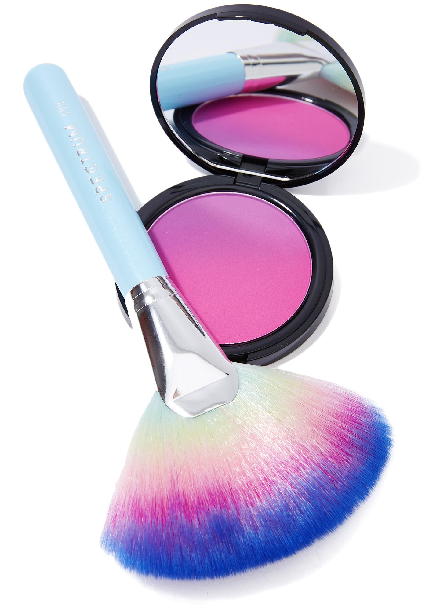 Spectrum Collections Rain Glow Fan Brush