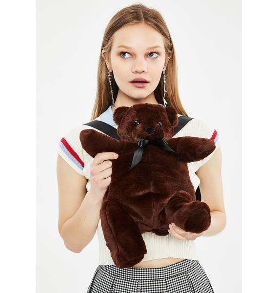 dELiA*s by Dolls Kill Hug Lover Teddy Backpack