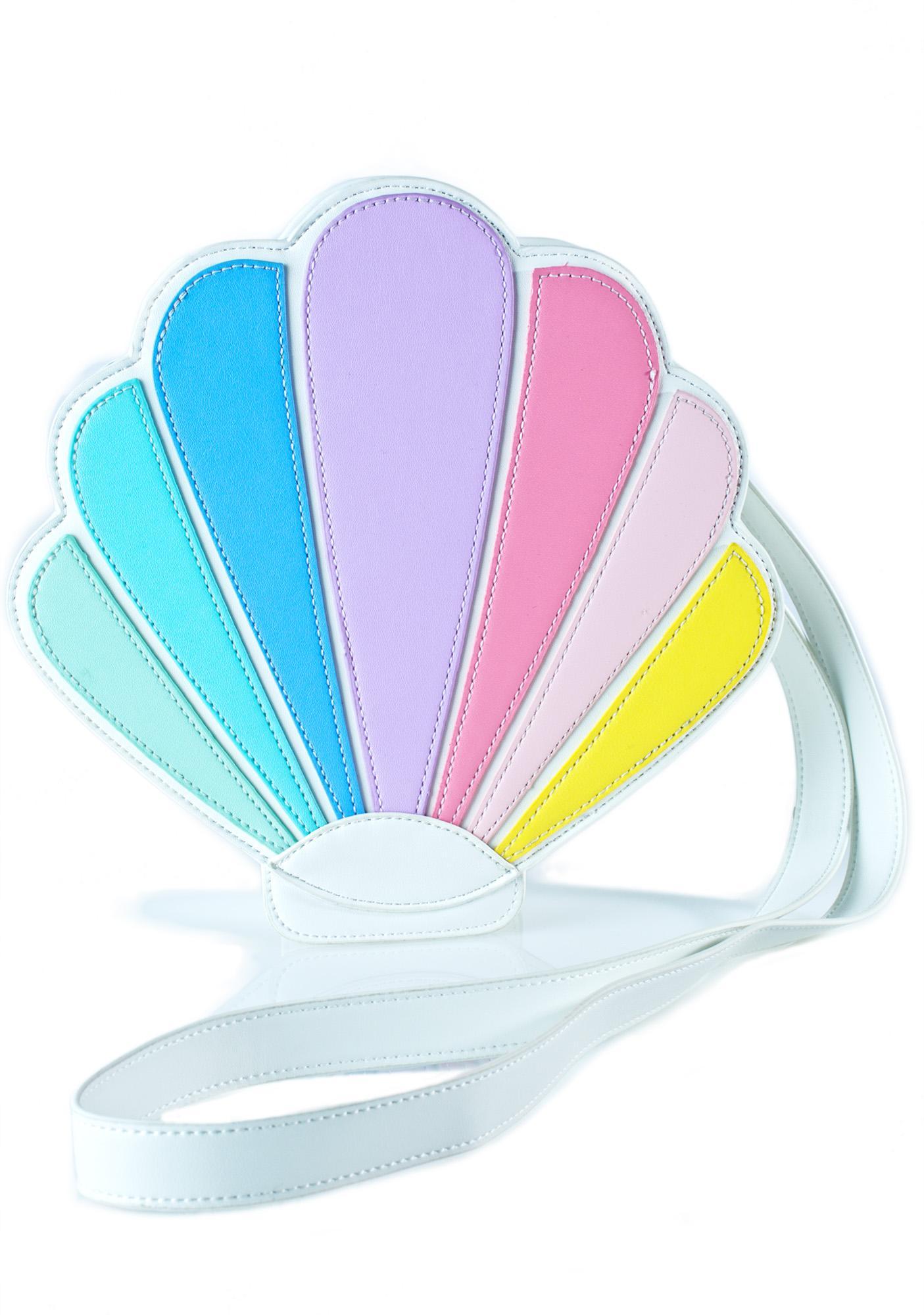 Sugar Thrillz Over The Rainbow Seashell Bag