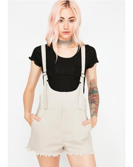 Get To Werk Short Overalls
