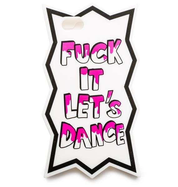 Candies x Hannah Beth Fuck It Let's Dance iPhone 5 Case