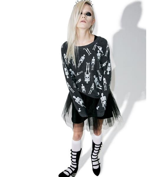 Chaser Skellington Sweater