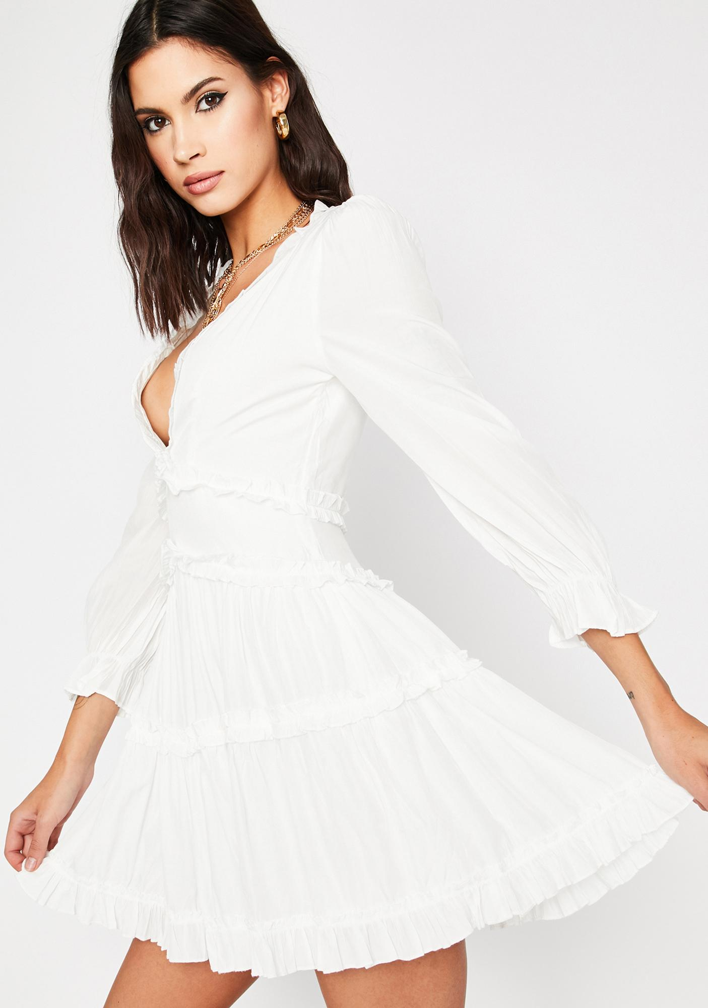 Runaway Roadie Ruffle Dress