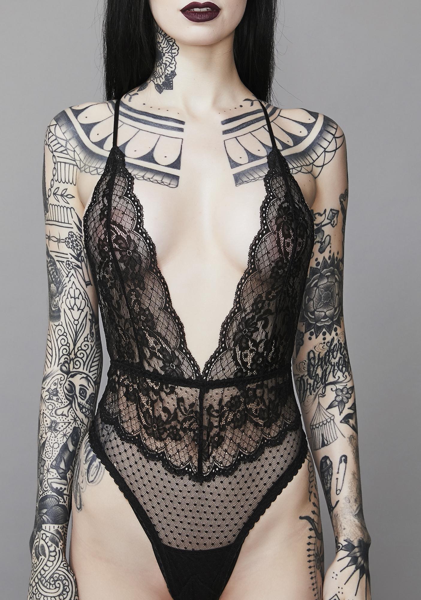 Widow Spellbinding Lace Bodysuit