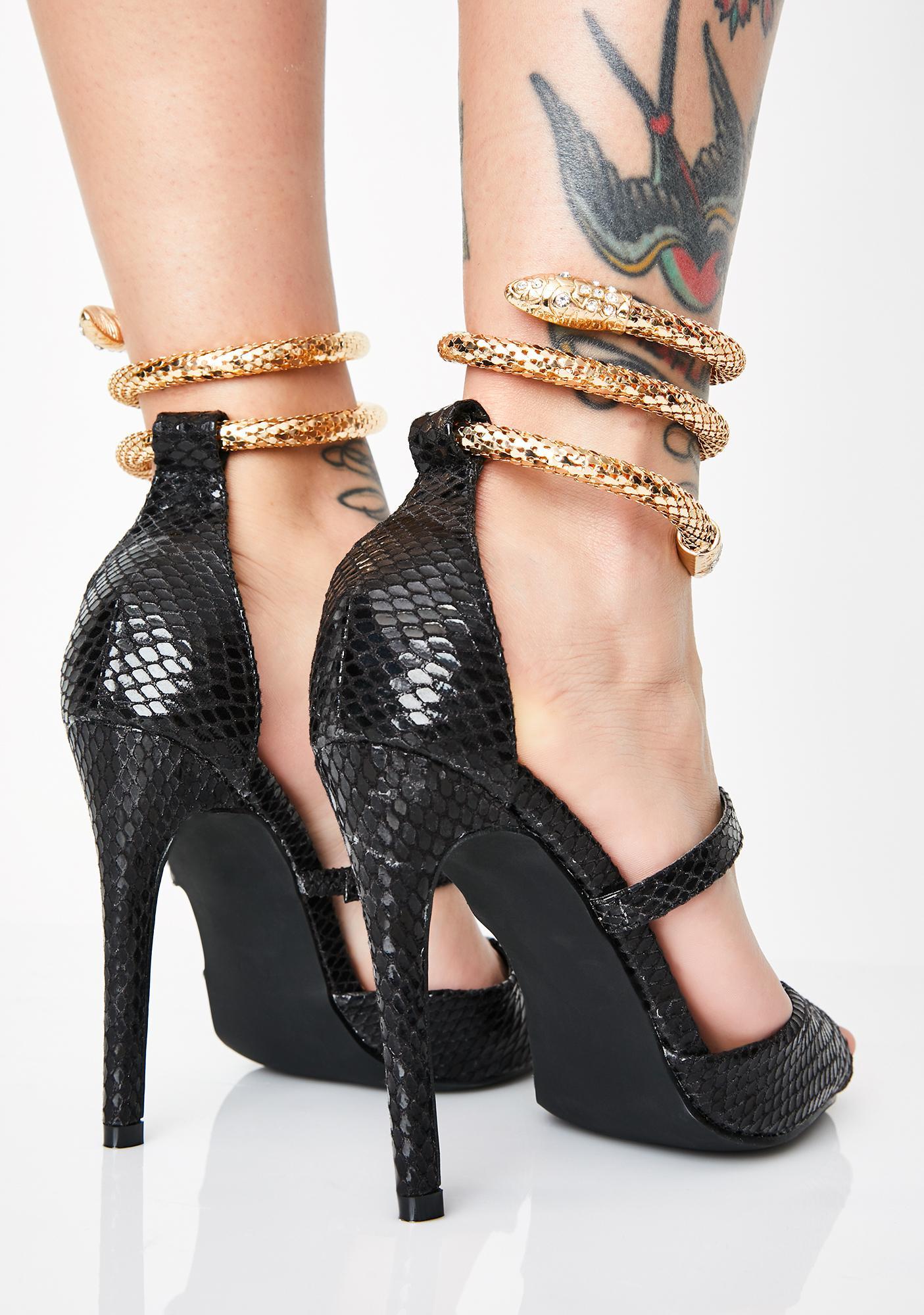 2c95f8bf402 Sabotage Snake Heels