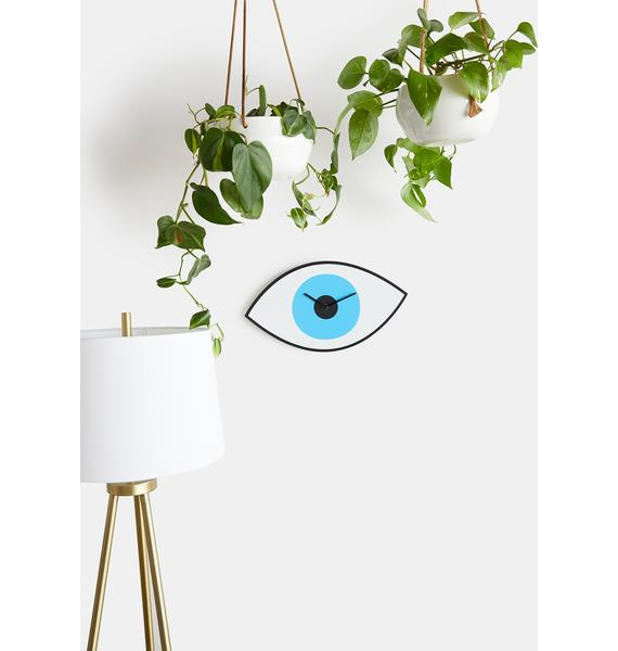 Mystic Eye Wall Clock