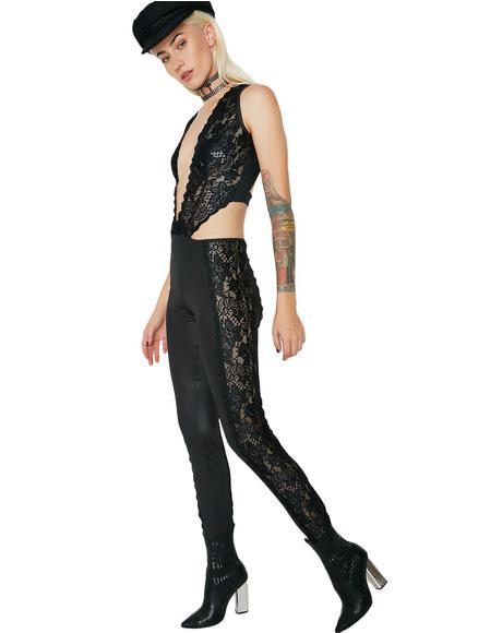 Indecent Exposure Lace Jumpsuit