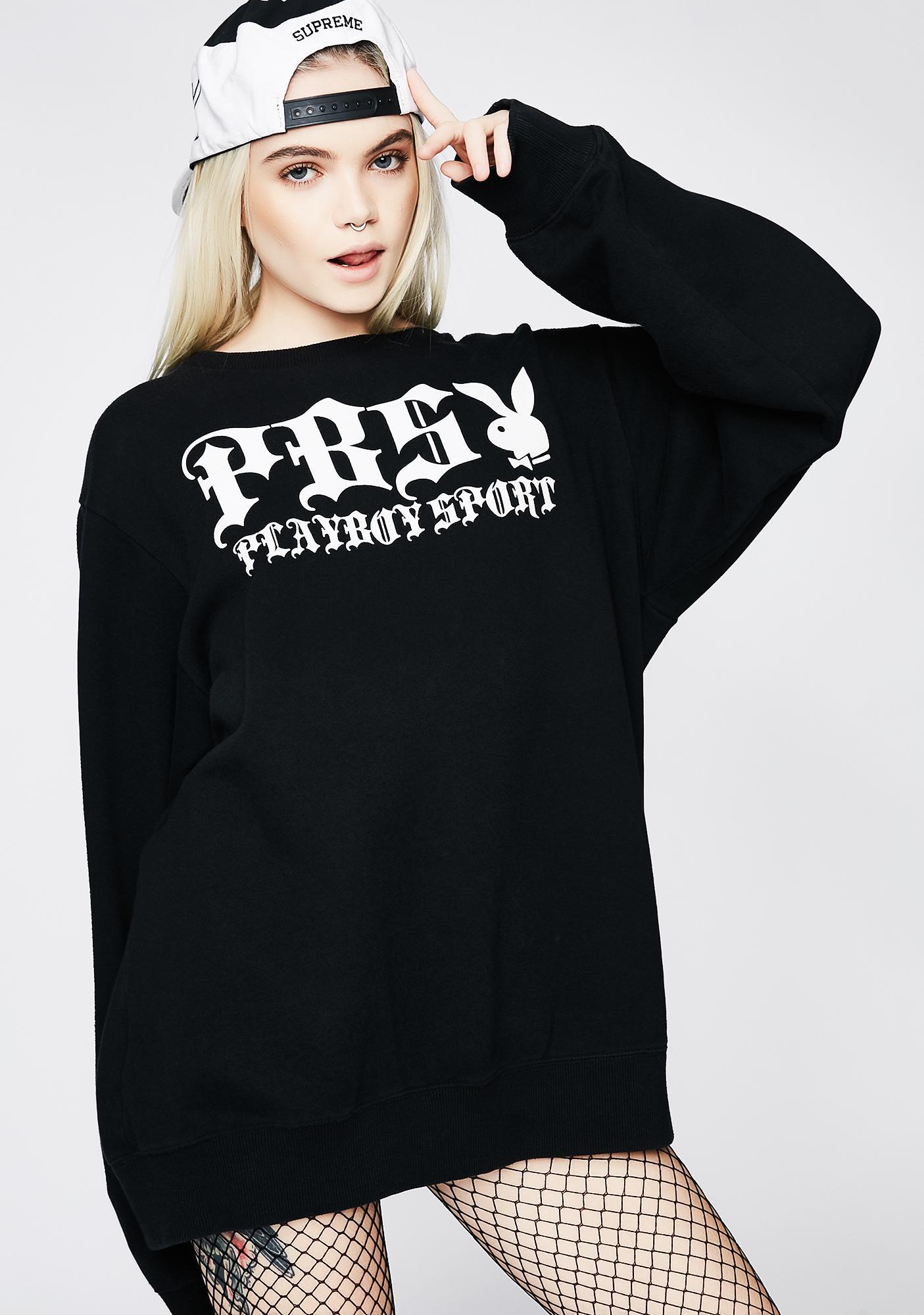 Vintage Playboy PBS Sweatshirt