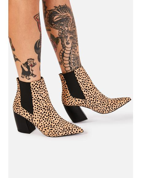 Wild Born Fierce Ankle Boots