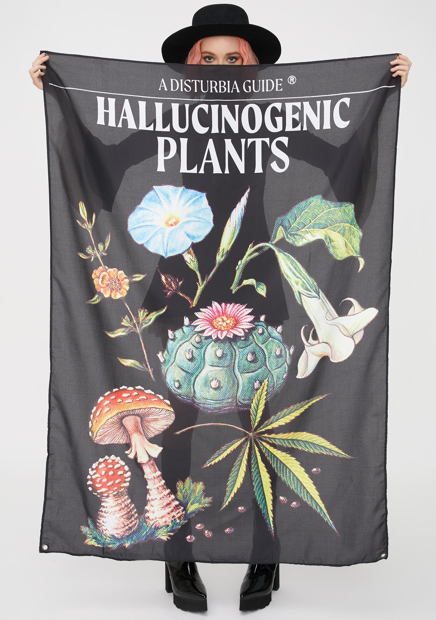 Disturbia Plants Tapestry