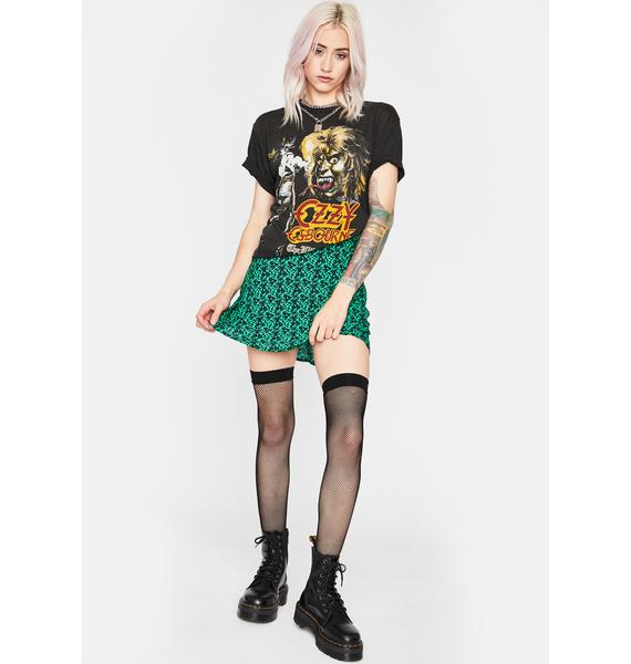 Illusion Of Love Mini Skirt