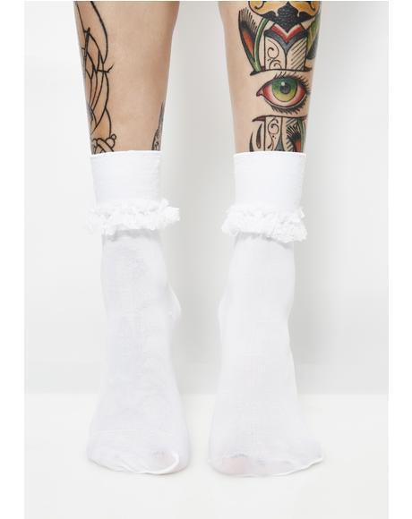 Ruffle Me Up Crew Socks
