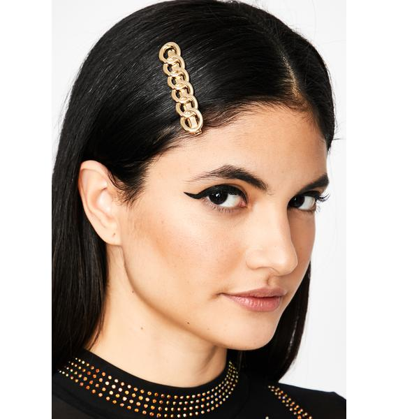 Chain Gang Hair Clip