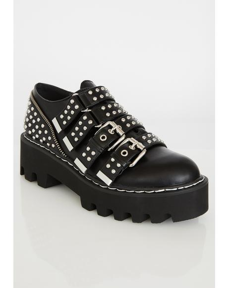 Nailed It Studded Brogues