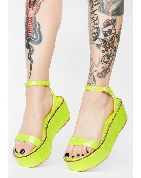 Davvy Platform Sandals