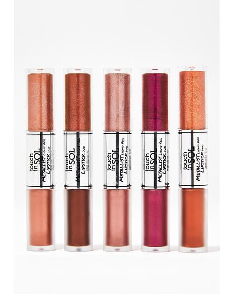 Jasmine Metallist Liquid Lipstick Duo